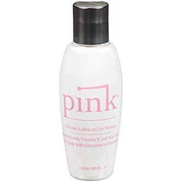 Lubricant Silicone - Pink Silicone 2.8 Oz-SIL-The Love Zone