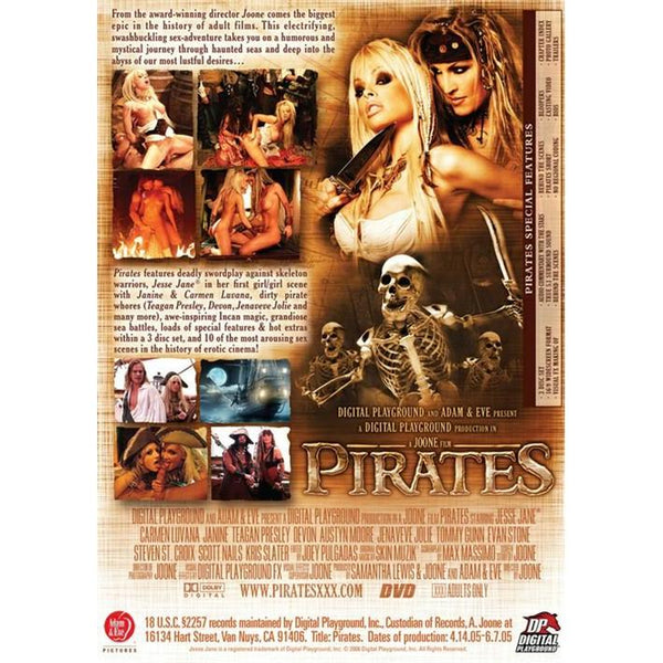 Adult Movie - Pirates #1 - 3 Disc DVD Collection Set-DVDC-The Love Zone