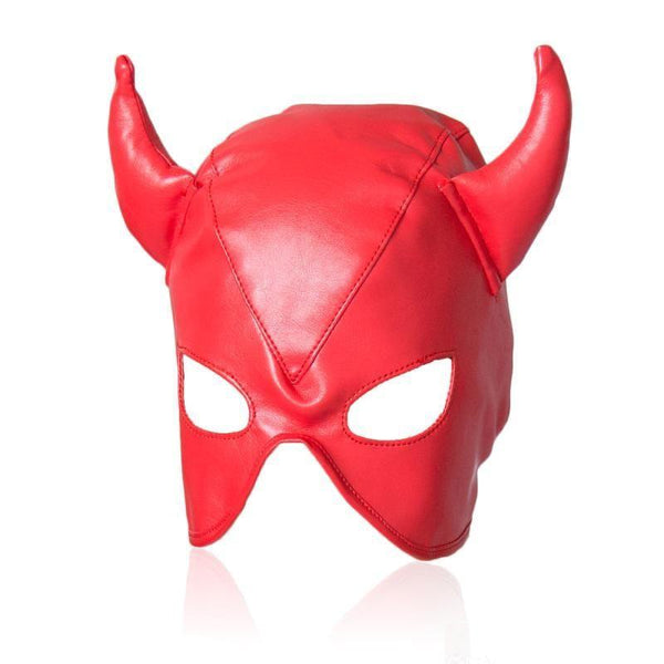 Mask - Diablo Red Devil Mask-Fetish/Bondage-The Love Zone