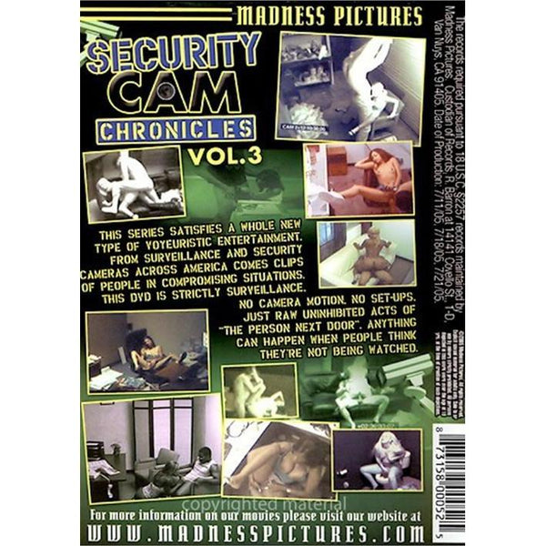 Adult DVD XXX Hidden Camera, Voyeurism