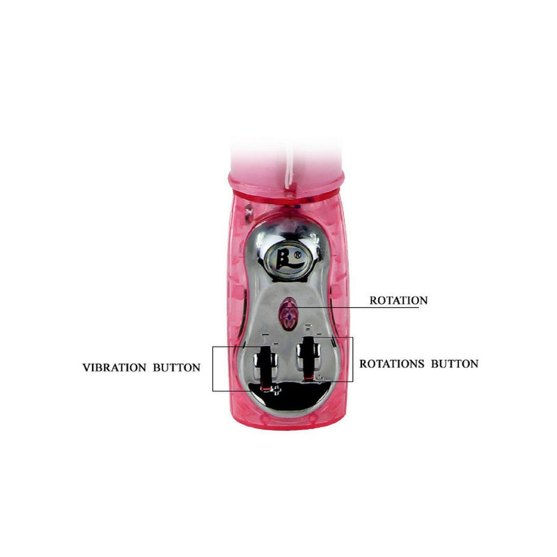 Vibrator - Rabbit Style Thrusting Butterfly Dual Action-TVDUO-The Love Zone