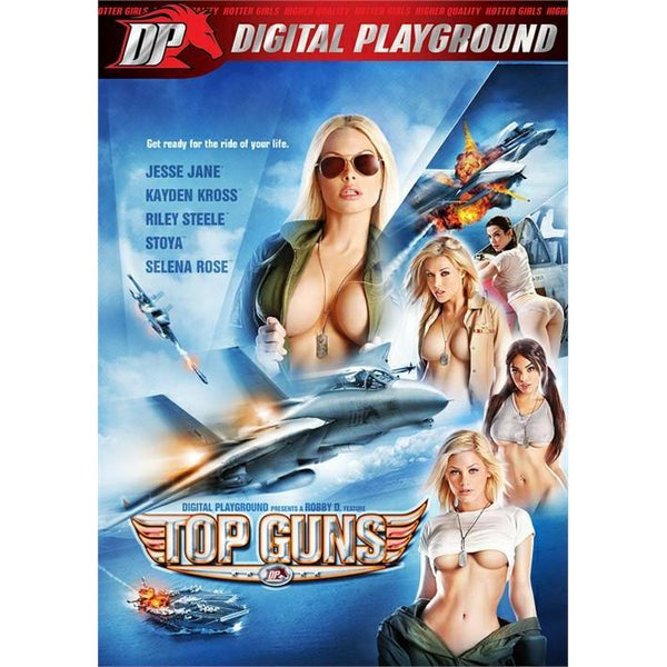 Adult Movie - Top Guns - 2 DVD +1 Blu-Ray Combo Pack