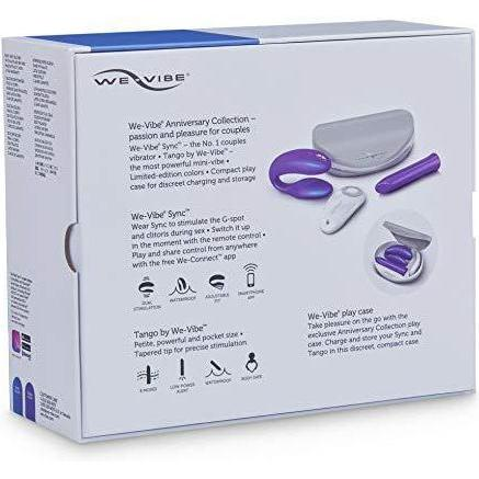 celebrate your closeness and Vibe together with two popular vibrators for couples in one convenient carry case