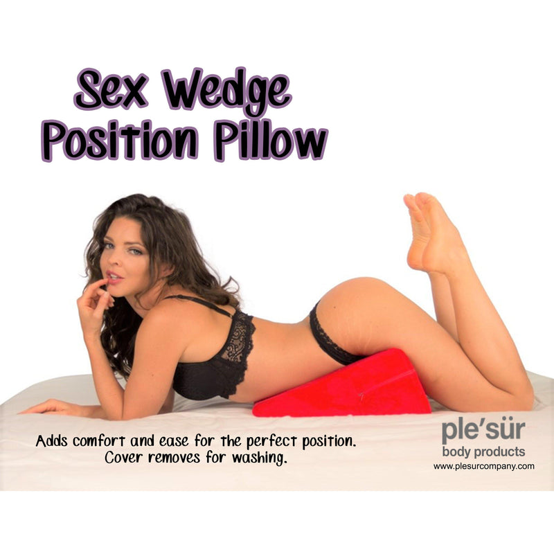 Sex Furniture - Wedge Pillow Red-For Couples-The Love Zone