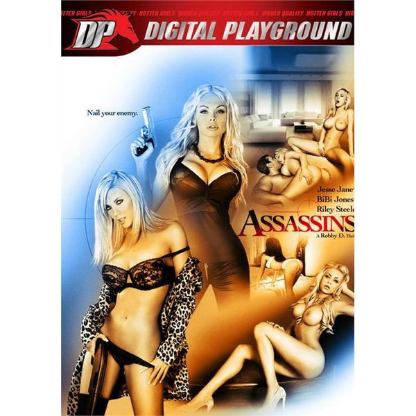 Adult Movie - Assassins-DVDC-The Love Zone