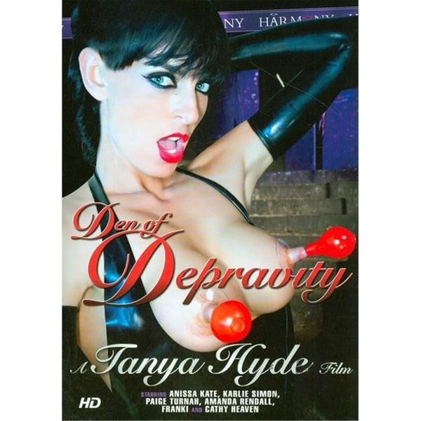 Adult Movie - Den of Depravity-DVDC-The Love Zone