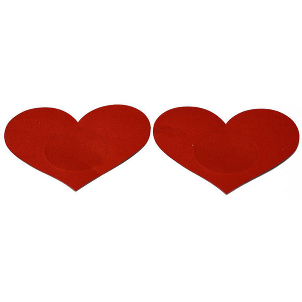 Pasties Red Hearts Nipple Covers 5 Pair-ACCES-The Love Zone