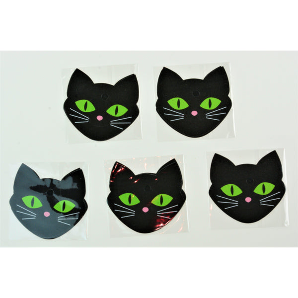 Pasties Cat Head Shaped Nipple Covers 5 Pair - with Glow in the Dark Eyes-ACCES-The Love Zone