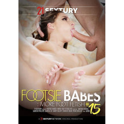 Adult Movie - Footsie Babes 15-DVDC-The Love Zone