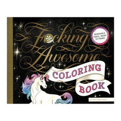 Fucking Awesome coloring Coloring Book-BOOK-The Love Zone