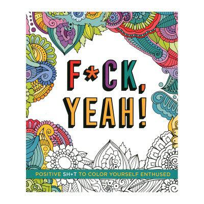 Fuck Yeah Coloring Book-BOOK-The Love Zone