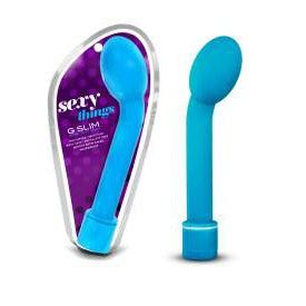 Vibrator - G Spot Petite G Slim Blue-TVIB-The Love Zone