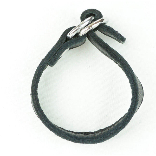Cockring Leather Cinch Cock ring-TRING-The Love Zone