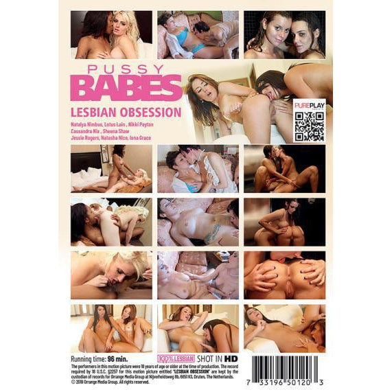 Adult Movie - Lesbian Obsession-DVDC-The Love Zone