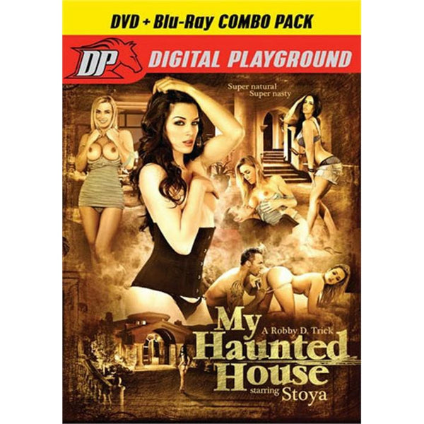 Adult Movie - My Haunted House-DVDC-The Love Zone