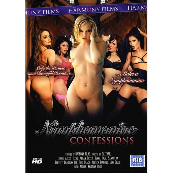 Adult Movie - Nympho Confessions-DVDC-The Love Zone