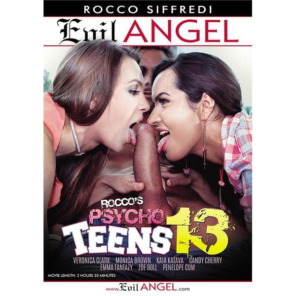 Adult Movie - Psycho Teens 13-DVDC-The Love Zone