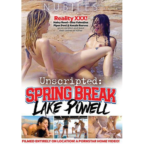 Adult Movie - Unscripted: Spring Break Lake Powell-DVDC-The Love Zone