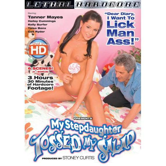 Adult Movie - My Stepdaughter Tossed My Salad 1-DVDC-The Love Zone