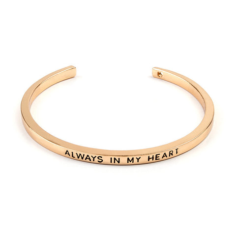 Always In My Heart Cuff Bangle - Florence Scovel - 2