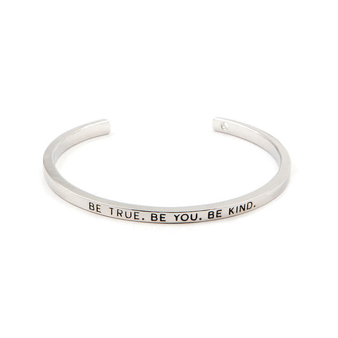 Be True Be You Be Kind Cuff Bangle - Florence Scovel - 3