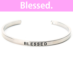 Blessed Cuff Bangle