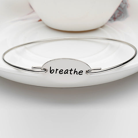Breathe Bangle - Ashley Jewels - 2