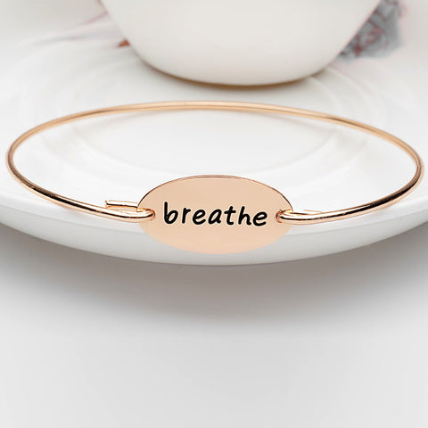 Breathe Bangle - Ashley Jewels - 3