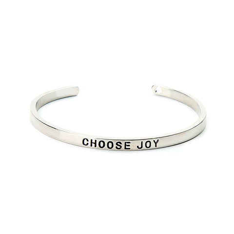 Choose Joy Cuff Bangle