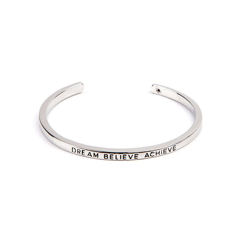 Dream Believe Achieve Cuff Bangle - Florence Scovel - 3