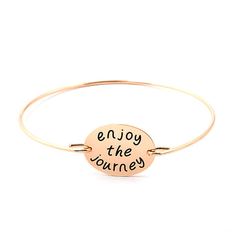 Enjoy The Journey Bangle - Ashley Jewels - 4