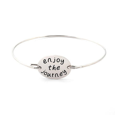 Enjoy The Journey Bangle - Ashley Jewels - 5