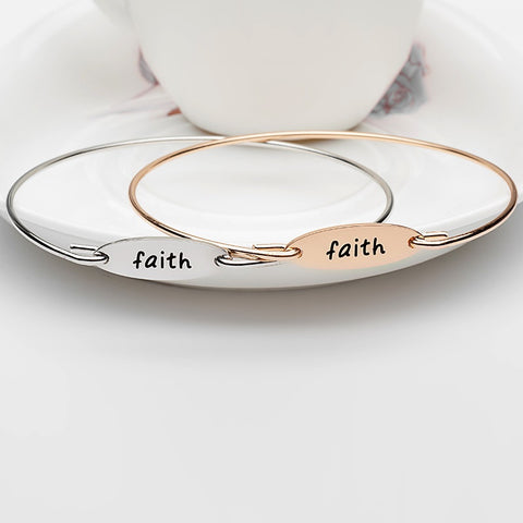 Faith Bangle - Ashley Jewels