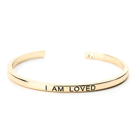 I Am Loved Cuff Bangle