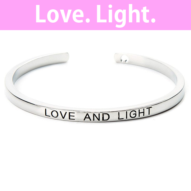 Love and Light Cuff Bangle