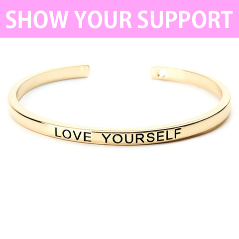 Love Yourself Cuff Bangle