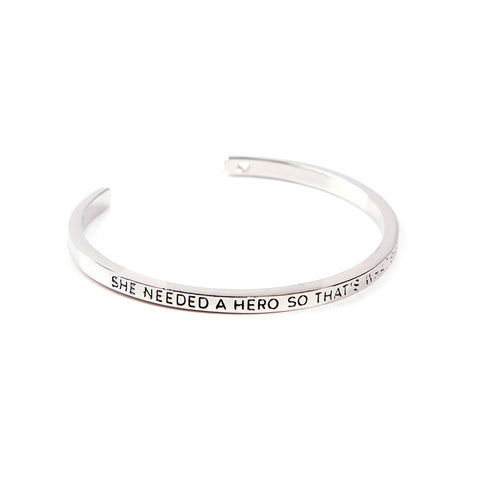 She Needed A Hero Cuff Bangle - Florence Scovel - 5