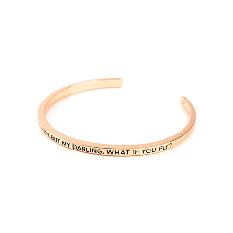 What if I Fall Cuff Bangle