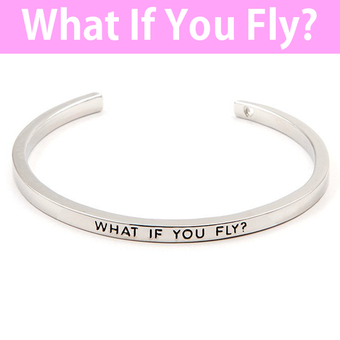 What If You Fly Cuff Bangle