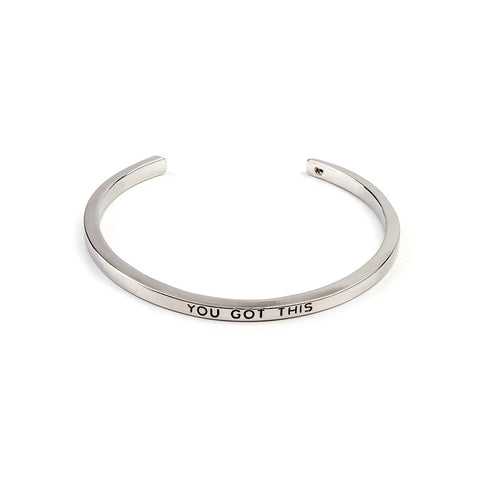 You Got This Cuff Bangle