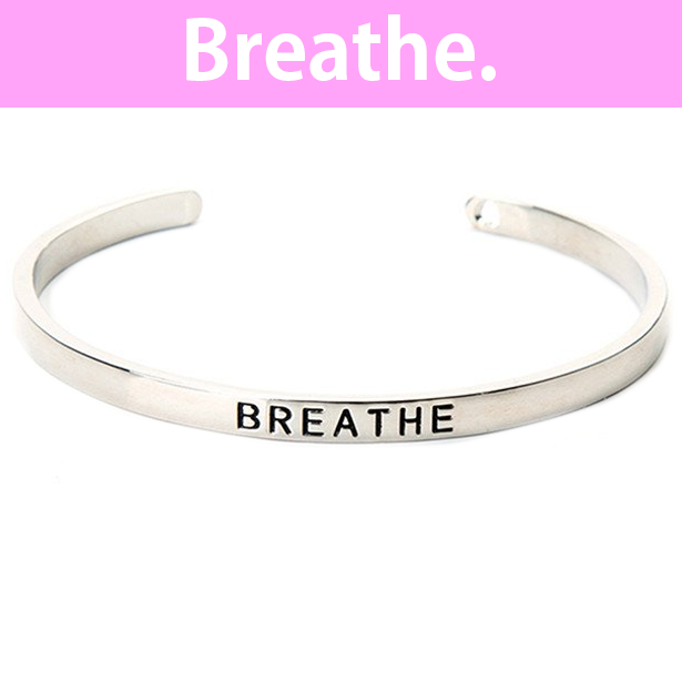 Breathe Cuff Bangle