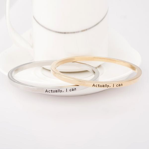 Actually I Can Bangle - Florence Scovel - 2
