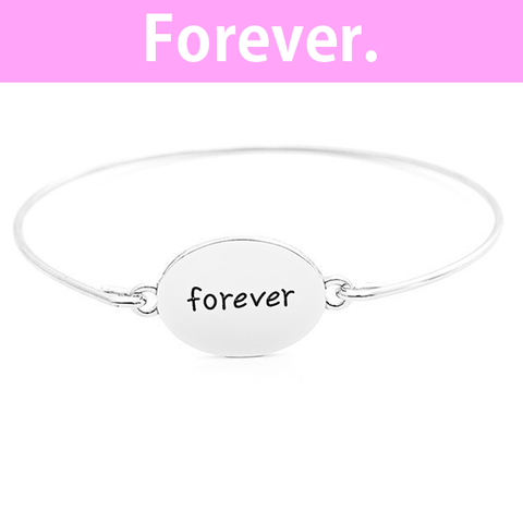 Forever Stamped Bangle