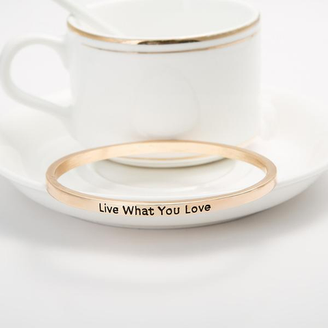 Live What You Love Bangle - Florence Scovel - 3