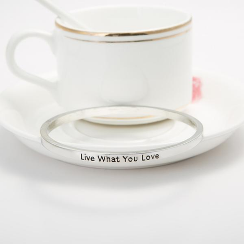 Live What You Love Bangle - Florence Scovel - 4