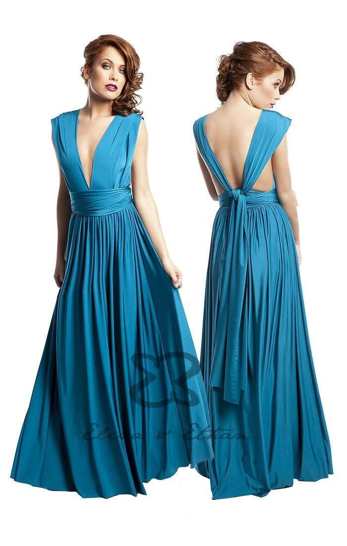 Eliza & Ethan - Diva in Blue Lagoon - Adore Bridal and Occasion Wear
