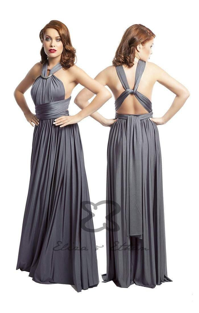 Eliza & Ethan - Diva in Titanium - Adore Bridal and Occasion Wear