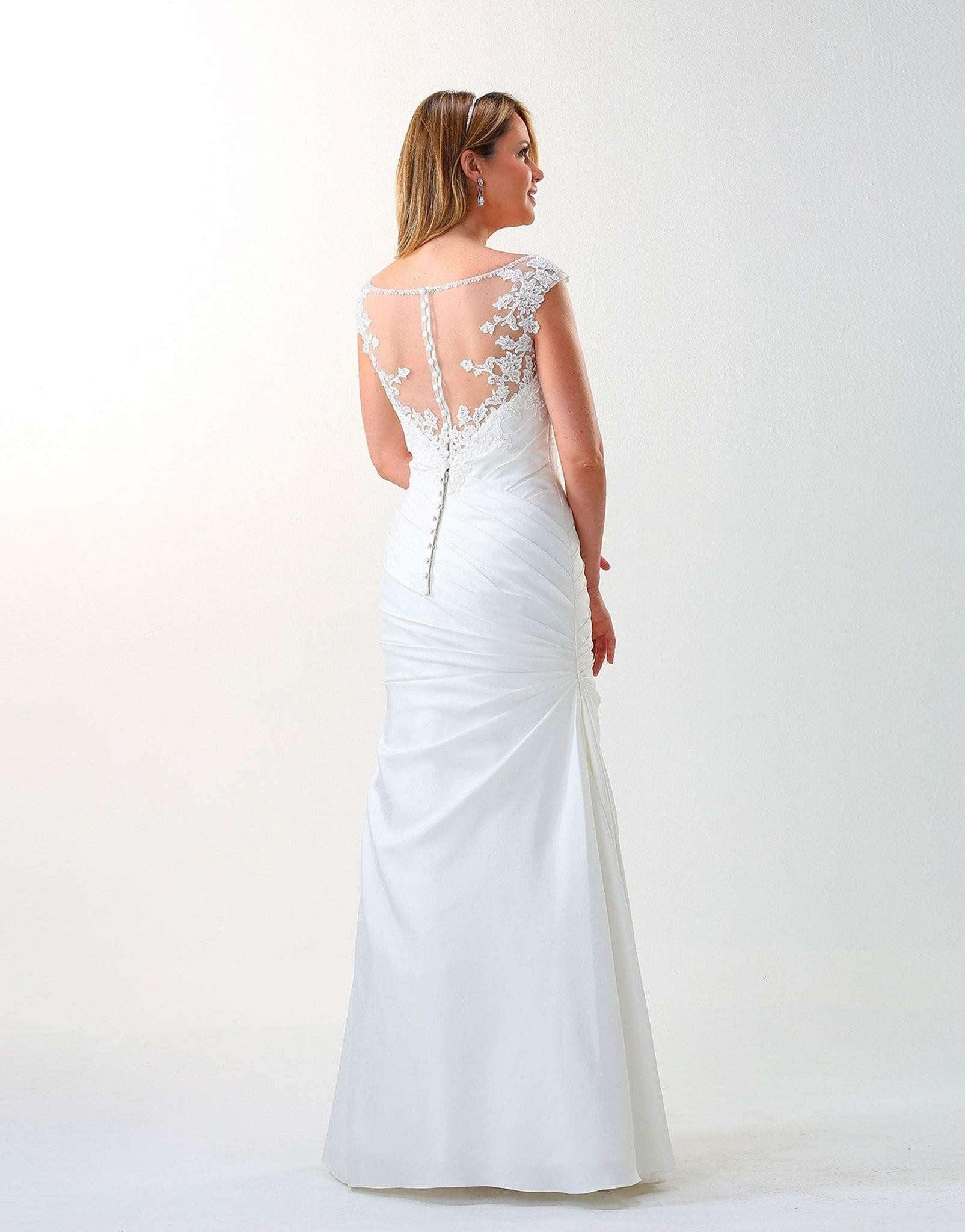 UK30 - Jilly with train - SALE - Adore Bridal and Occasion Wear