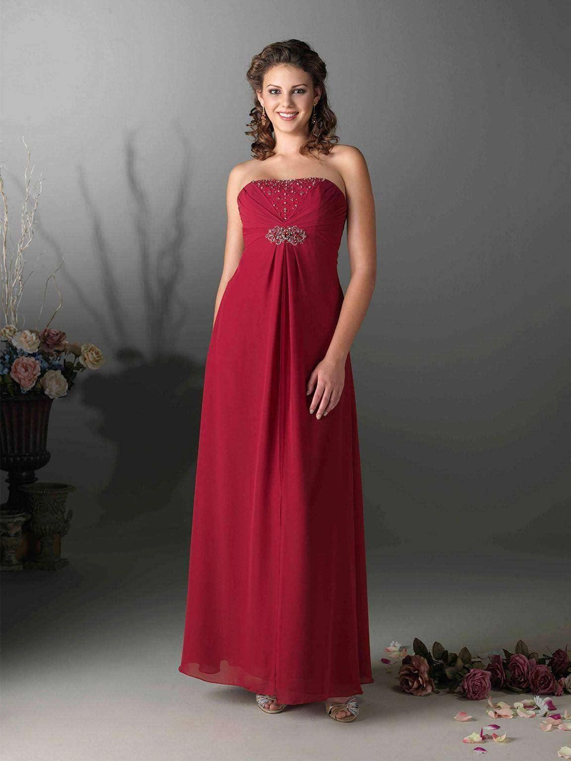 UK28 BURGUNDY - KERRY - SALE - Adore Bridal and Occasion Wear