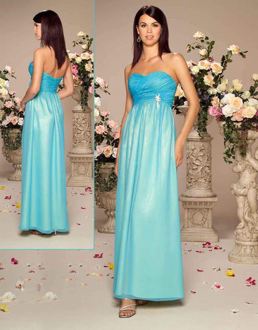 UK10 TURQUOISE/YELLOW - IMOGENE - SALE